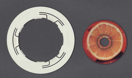 Mini-CD-Adapter von 8cm auf 12cm Durchmesser