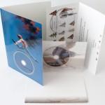 Klappkarten mit DVD oder CD als Grußkarten und Weihnachtskarten immer beliebter