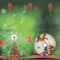 Klapparkarte DIN lang Xmas CD